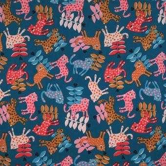 Léopards multicolors