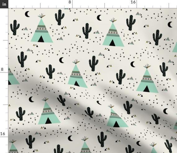 Tipis et cactus
