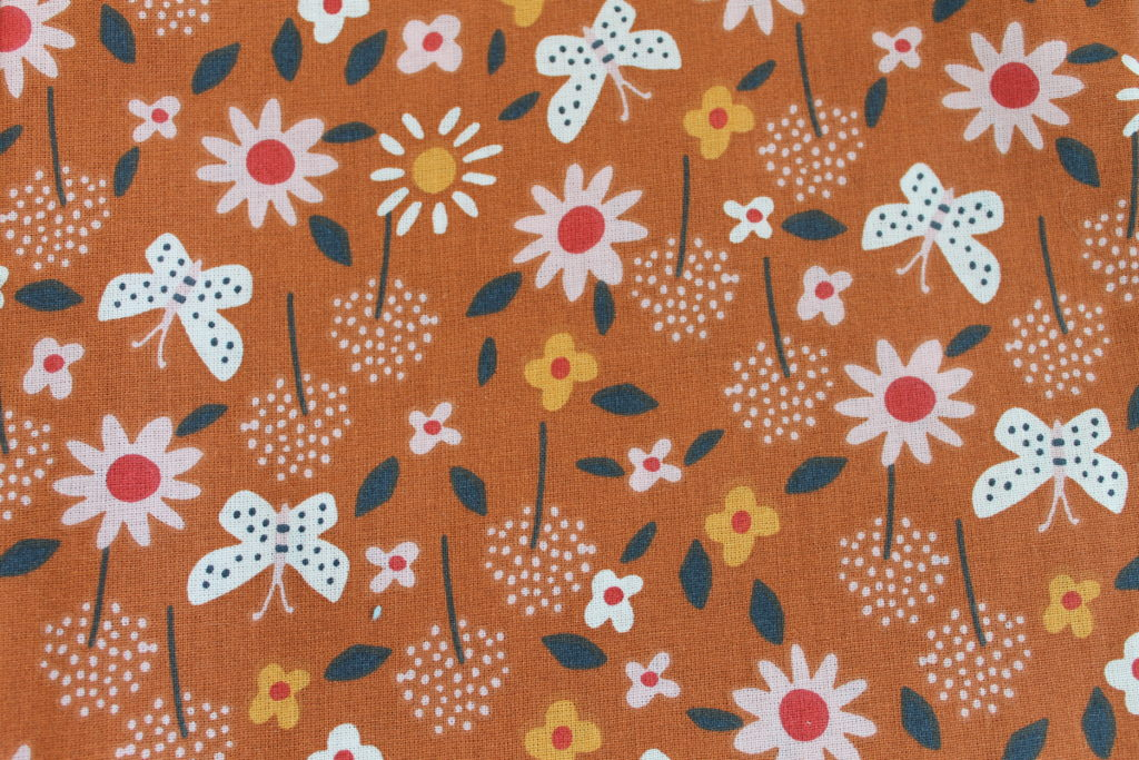Fleurs marron