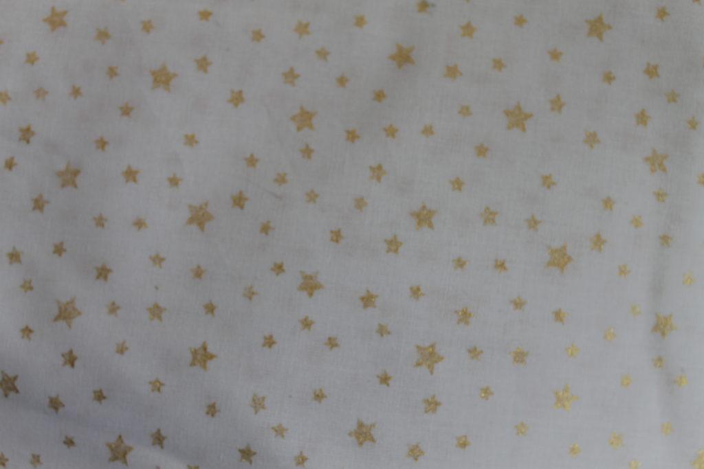 Etoiles dorées fond blanc
